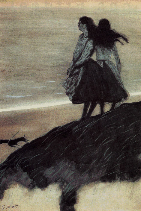 leon-spilliaert-fillesurladune