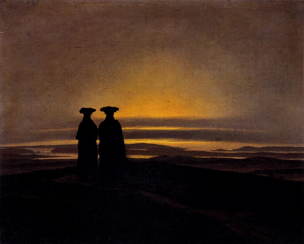 Friedrich_Caspar_David_Sunset